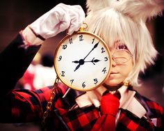 Peter White Alice in the Country of Hearts Clover (White Rabbit/Alice in Wonderland) cosplay epicness