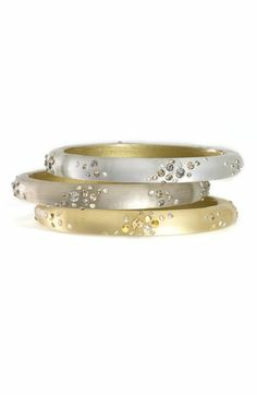 Alexis Bittar bangles...simple