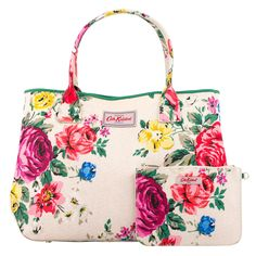 Hampstead Rose Embossed Handbag Tote | Cath Kidston |