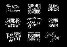 Category: Typography - Andrew Damen