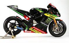 Scarica sfondi Monster Yamaha Tech3 4k, superbike, moto, 2017, MotoGP, Yamaha