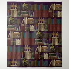 Professor Darksage's Library  Wizard Room Tapestry