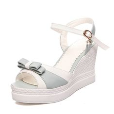 VogueZone009 Women's Assorted Color High Heels Buckle Open Toe Platforms and Wedges >>> Be sure to check out this awesome product. #sandals
