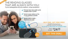 Thin Optics - Don't Miss This Limited Offer