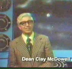 """El Profesor Mc Dowell el primer """"hombre del tiempo"""" de la TV en PR"""