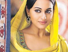 Sonakshi Sinha - She is really a perfect Indian traditional beauty.