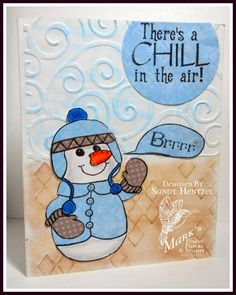 Sandy's Scrapbookin's: Mark's Finest Paper and Stamps