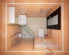 Small Bathroom Layout, Small Bathroom With Shower, Tiny Bathrooms, Tiny House Bathroom, Washroom Design, Bathroom Design Luxury, Minimalist Small Bathrooms, Small Bathroom Inspiration, Mini Bad