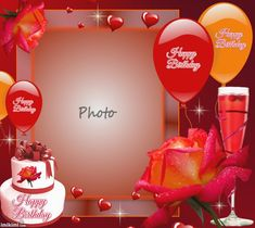 manutencop's Birthday Frames - 2012 - 2013 - Happy Birthday Manutencop birthdays (With images) Birthday Wishes With Photo, Happy Birthday Greetings Friends, Happy Birthday Cake Pictures, Birthday Photo Frame, Happy Birthday Frame, Happy Birthday Posters, Happy Birthday Wishes Images, Happy Birthday Daughter, Happy Birthday Celebration
