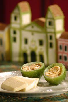 Doce casca de limão e doce de leite de Goiás Velho