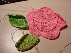 crochet roses patterns for fashion - crafts ideas - crafts for kids