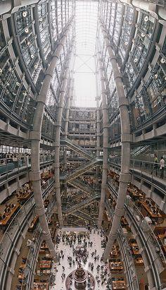 Lloyds Building Interior