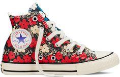 Tênis Converse Chuck Taylor All Star em parceria com a Fundação Andy Warhol - coleção verão 2016;