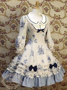 Classic lolita, Mary Magdalene floral OP