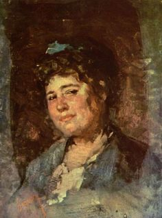 Portrait of Alexandrina Filionescu - Nicolae Grigorescu Gouache, Art Database, Realism Art, High Art, Sculpture, Gravure, Famous Artists, Figure Drawing, New Art