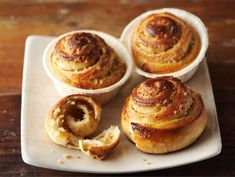 Tasty Pastry, Muffin, Cooking Recipes, Vegan, Breakfast, Sweet, Food, Morning Coffee, Candy