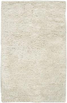 "Surya Ashton ASH-1300 Shag Hand Woven 100% New Zealand Wool Papyrus 8' x 10'6"" Area Rug"
