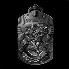 Urwerk UR-1001 Zeit Device Über Complication Pocket Watch
