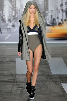 that swimsuit will be mine DKNY spring rtw 2013