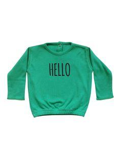 OrganicZoo Hello Sweatshirt