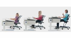 Moll Champion Adjustable Kids Desks, Chairs and Accessories