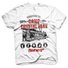 Koszulka Friday The 13th - Camp Crystal Lake