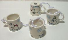 Arabia Finland Moomin Christmas 2011 decoration Mini mugs 4-set in | eBay