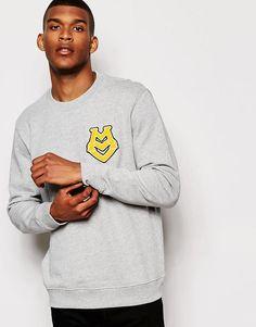 Love Moschino Logo Sweatshirt | ASOS on ShoppingIS | Make shopping more fun…