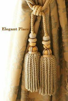 Yellow Bedding, Drapery, Straw Bag, Tassels, Interior Design, Decor, Blinds, Nest Design, Decoration