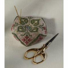 The Cross Stitch Guild Beautiful Biscornu Fritillary $8.99