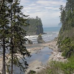 Washington Coast near South Beach