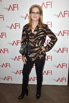 Angelina Jolie & Other A-Listers Attend the AFI Awards