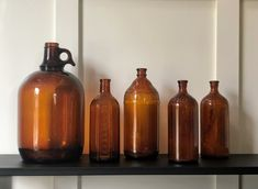 All remaining inventory! These sell quick, so take advantage. Sell Quick, Bottom Of The Bottle, Amber Bottles, Apothecary Bottles, Different Styles, Whiskey Bottle, Vintage, Vintage Comics