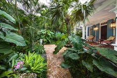 Florida Keys, Small Tropical Gardens, Tropical Garden Design, Tropical Style, Tropical Plants, Tropical Backyard Landscaping, Florida Landscaping, Landscape Design Plans, Landscape Architecture