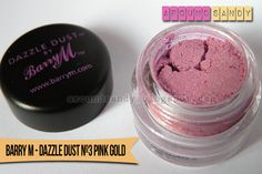 Review Barry M - Dazzle Dust 3 Pink Gold
