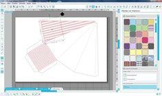 Silhouette Studio- Aplicando fundos em Cone Piramide