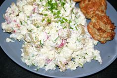 Food N, Potato Salad, Cauliflower, Potatoes, Vegetables, Ethnic Recipes, Inspiration, Sinks, Biblical Inspiration