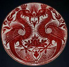 William De Morgan plate