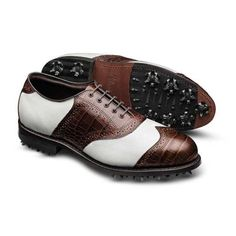 439be16fa55 Legend - Wingtip Saddle Mens Golf Shoes by Allen Edmonds - Playing Golf in  Style!
