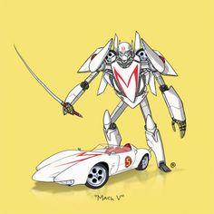 transformer's version cars