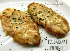 Parmesan and Parmesan Chicken - Sugar Mollichedizucchero- If you love crunchy and stringy chicken, parmesan and parmesan chicken is the recipe for you. Dedicated to those who have little time to Read more … - Baby Food Recipes, Meat Recipes, Chicken Recipes, Cooking Recipes, Homemade Chicken Nuggets, Chicken Snacks, Pasta, Boneless Chicken, Chicken