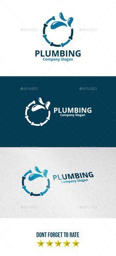 Plumbing Logo - Objects Logo Templates