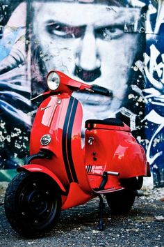 Vespa days — Cutdown smallframe