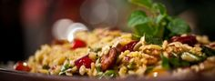 Salade d'orzo au chorizo et au fromage féta - Antoine Sicotte