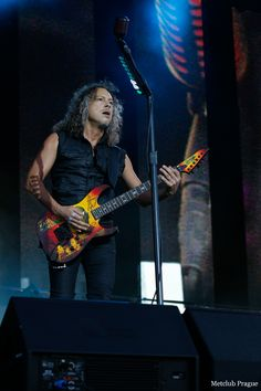 Metallica- Kirk Hammett  2014