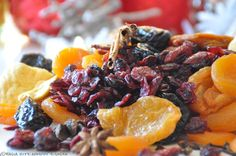 dried fruits compote /  kompot z suszu