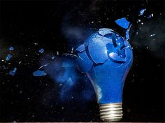 Exploding Lightbulbs: High-Speed Photos by Jon Smith | Inspiration Grid | Design Inspiration