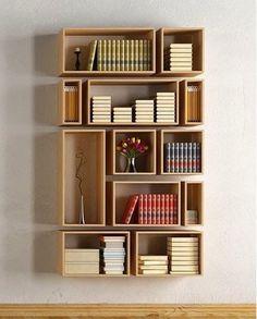 Floating Bookshelf designed by Alphaville ✨