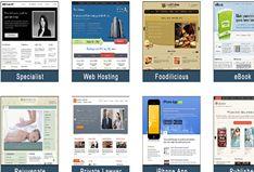 5 Free White Blogger Templates