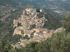My paternal grandparents were both from Arpino Italy. I have been there once, and I can't wait to go back!